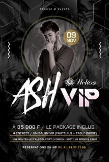 DJ Ash, guest star de l'Hélios vendredi