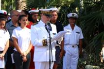 Commémoration du 100ème anniversaire de l'Armistice de 1918 à Papeete