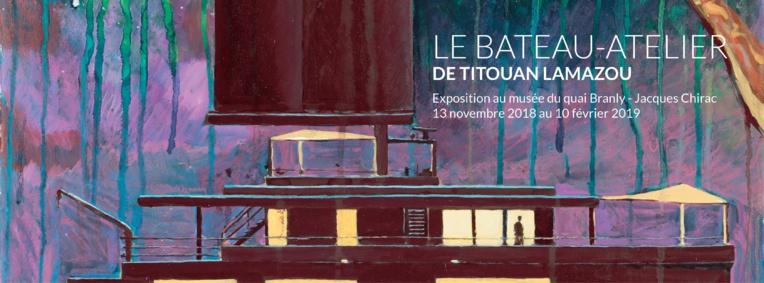 Au Quai Branly, Titouan Lamazou présente la maquette de son bateau-atelier