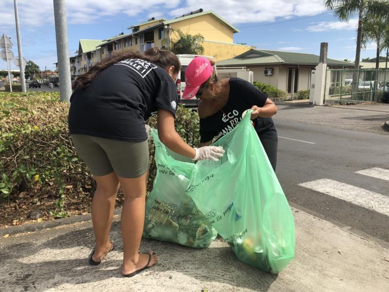 """""""Mon fenua ce n'est pas ta poubelle"""", les Eco Warriors passent de nouveau à l'action"""