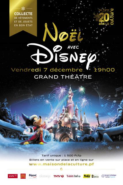 Un concert de Noël sur le thème de Disney
