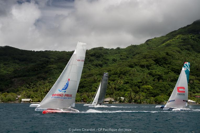 Enfin une victoire d'étape pour Tresors de Tahiti