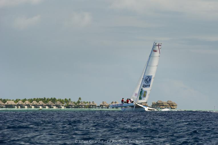 Encore une arrivée victorieuse pour Trésors de Tahiti