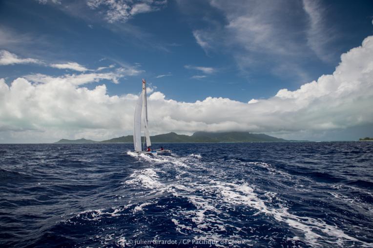 De belles traversées inter-îles étaient au programme du Grand Prix Pacifique des Jeux