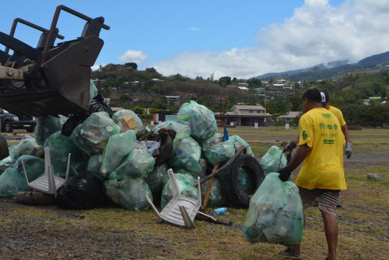 Environnement - Tefana Water Days 2018 : Des tonnes de déchets retirées à Faa'a