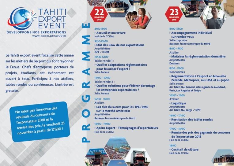 Conférences et ateliers à la CCISM pour développer nos exportations