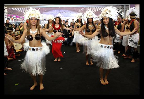 Tahiti à la foire de Nice