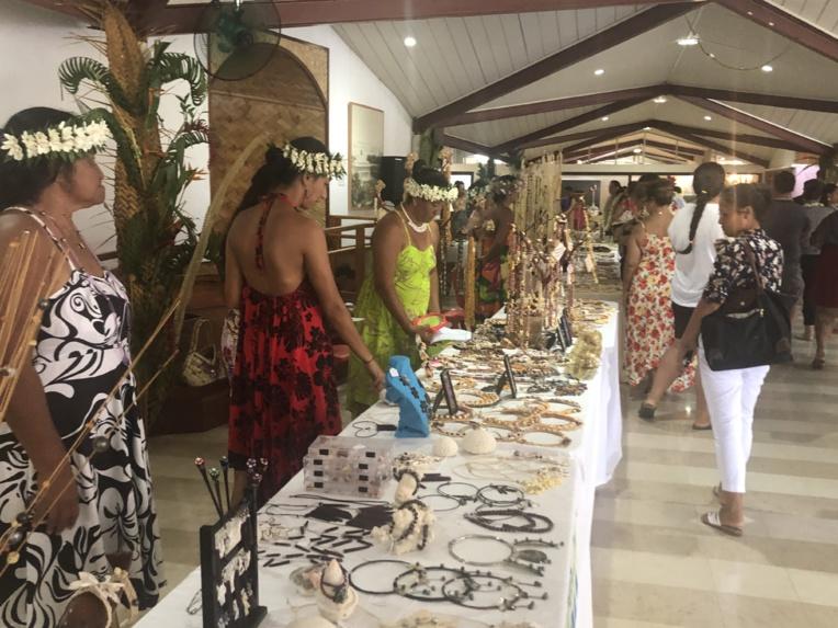 Les artisans des Tuamotu Gambier à l'honneur à l'assemblée