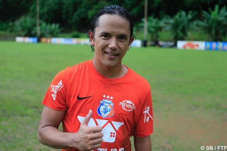 Marama Vahirua, joueur mais aussi président de l'as Dragon