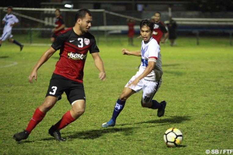 Teaonui Tehau est l'actuel meilleur buteur du championnat