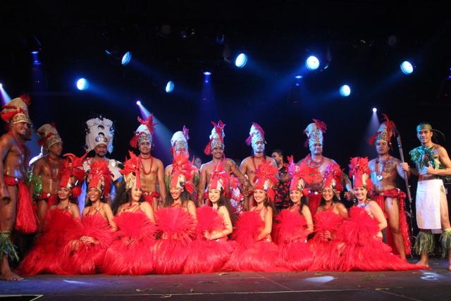 """La troupe de Tahiti Hura a présenté également son spectacle sur """"Ra'i et Atea"""" au public hawaiien."""