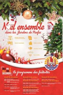 """Opération """"Noël ensemble"""" dans les jardins de Paofai"""