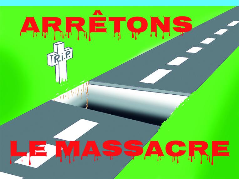 """"""" Arrêtons le massacre """" par Munoz"""