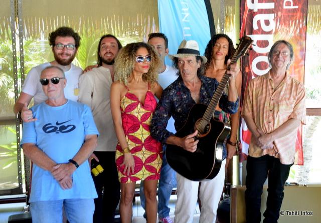 Sept artistes internationaux sont venus en Polynésie pour la quatrième édition du Tahiti Blues Hôtel. Deux artistes locaux assureront la première partie. Une soirée à ne pas manquer !