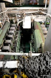 Avec ses quatre moteurs diésels entrainant deux hélices, le Prairial peut atteindre 20 nœuds nautiques (37 km/h). Il possède également trois générateurs diésel pour alimenter ses systèmes électriques, en particulier la barre.