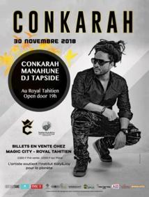 Conkarah au Royal tahitien ce vendredi