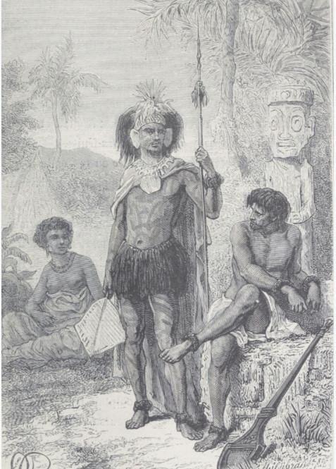 De 50 000, peut-être 80 000 personnes lors de la découverte de l'archipel, les Marquises n'abritaient plus que deux mille âmes environ au début du XXe siècle.
