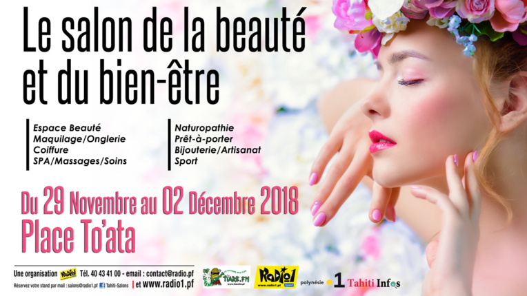 Le salon de la Beauté et du bien-être, place To'ata jusqu'à dimanche