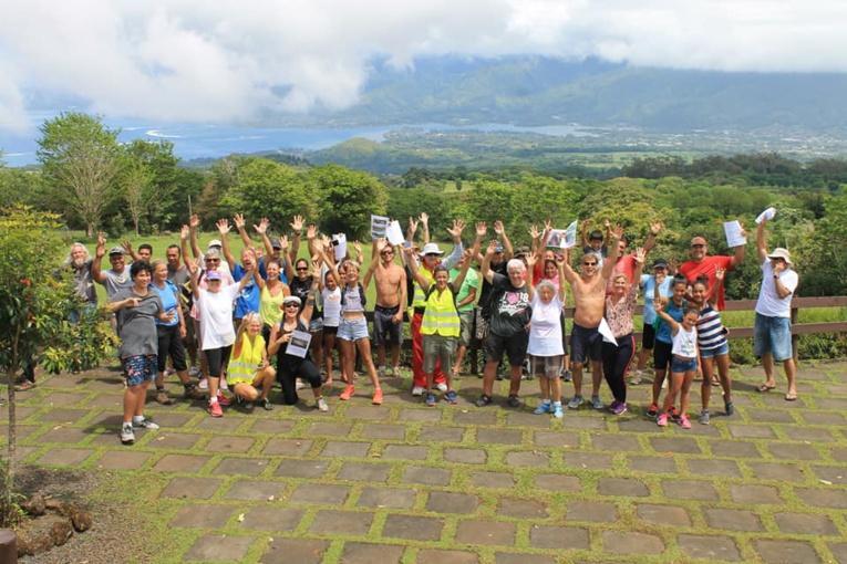 Mi-octobre, une marche pour le climat avait été organisée à Taravao.