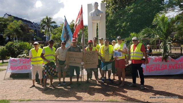 Faible mobilisation pour les gilets jaunes de Polynésie