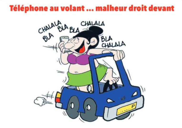 """"""" La sécurité routière """" vu par Munoz"""