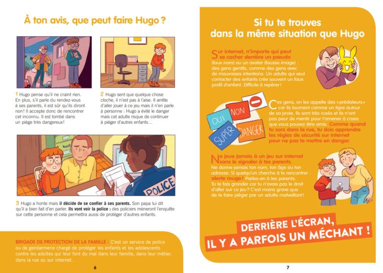 Page enfant : Un livret pour briser le tabou des violences sexuelles faites aux enfants
