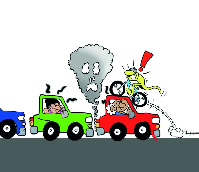 """La sécurité routière, suite """" vu par Munoz"""