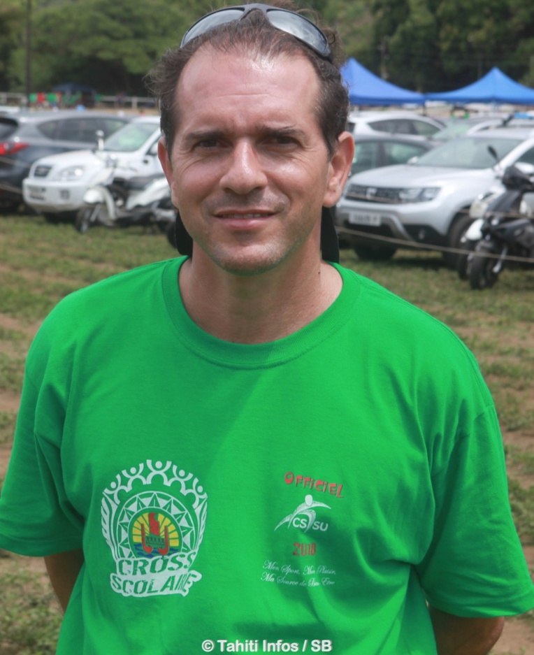Michaël Retali, directeur de l'USSP