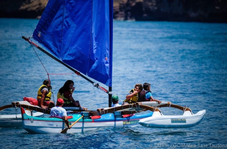 Teiva voudrait rendre la pirogue à voile plus accessible © Tahiti Zoom