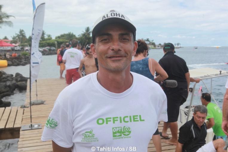 Sylvain Roux, directeur technique à la fédération tahitenne de natation