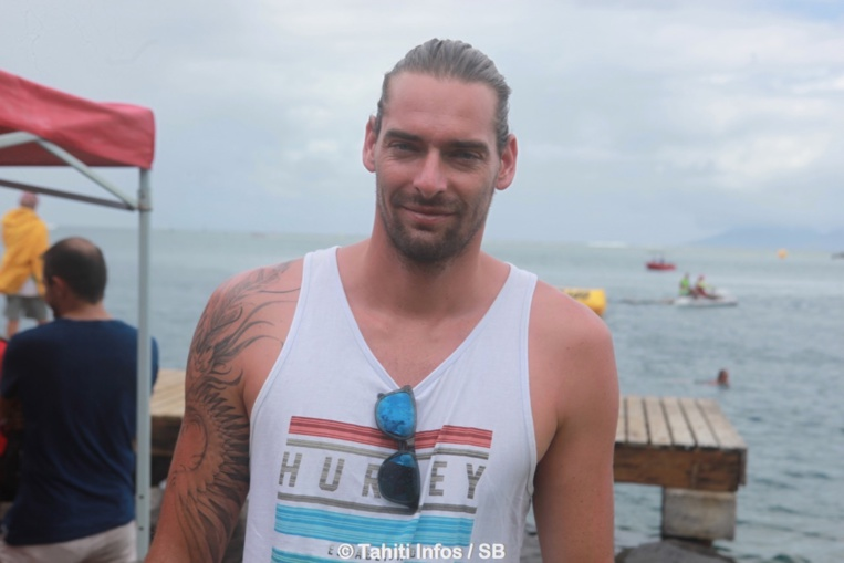 Camille Lacourt, champion de natation