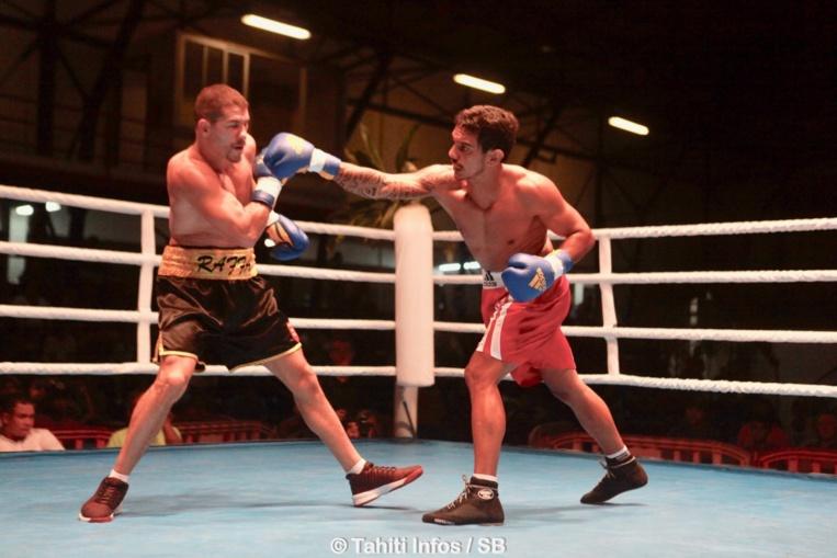 Jean-Louis Albertini a fait un retour gagnant sur le ring de Fautaua