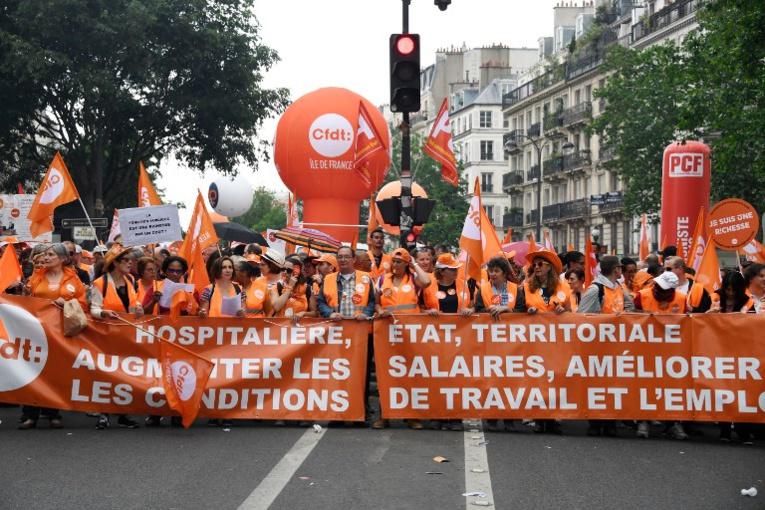 La CFDT devient le premier syndicat français, la CGT reste en tête dans la fonction publique