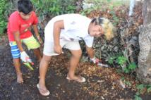 Les écoliers écolos de Mamao traquent et recyclent les déchets