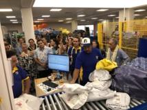 Tua Rata abrite depuis le mois d'octobre le nouveau centre de traitement de courriers de l'OPT qui offre des conditions de travail plus confortables pour les 50 agents de ce service, et donc un meilleur service pour le public.