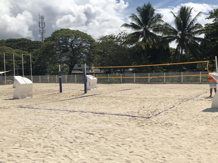 L'aménagement choisi a aussi été imaginé pour accueillir des manifestations sportives locales mais également internationales participant au rayonnement.  Ainsi à partir de samedi le parc Aorai Tinihau sera le théâtre des Oceania de beach volley.
