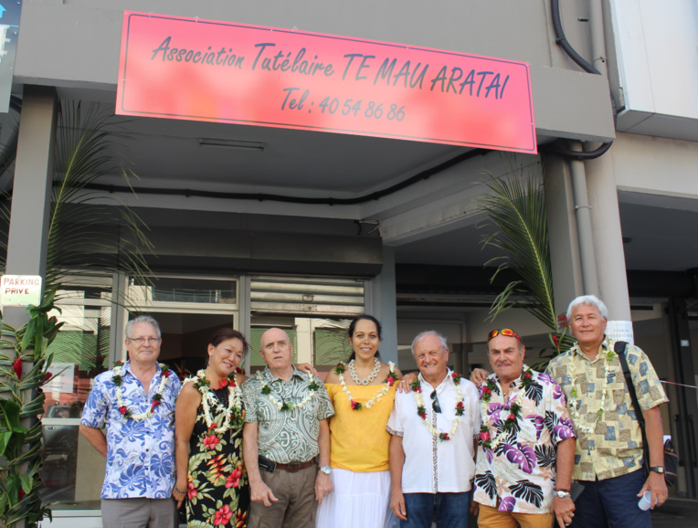 Les nouveaux locaux de l'association ont été inaugurés à côté de l'avenue Prince Hinoï à Papeete.