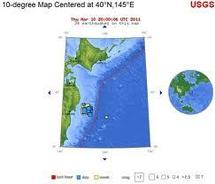 Fort séisme au large du nord-est du Japon