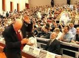 Le président allemand attaqué à coup d'oeufs