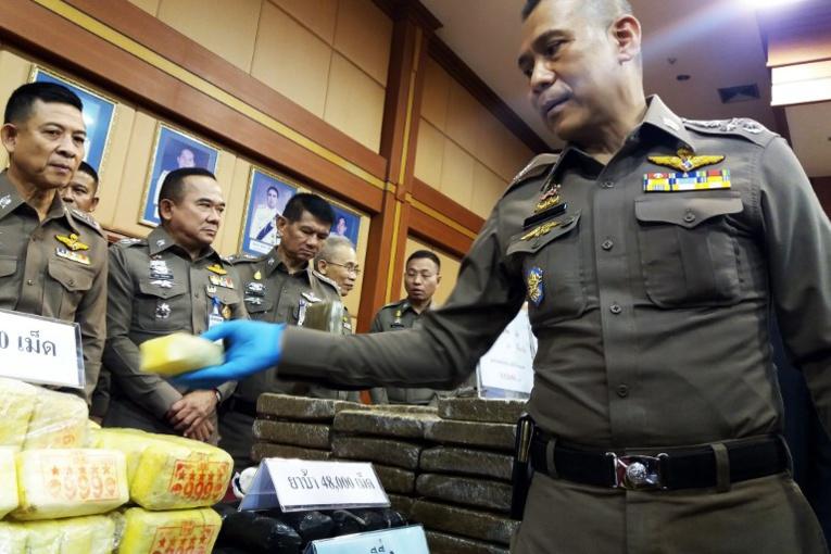 Thaïlande: saisie de plus de 18 millions de cachets de méthamphétamine