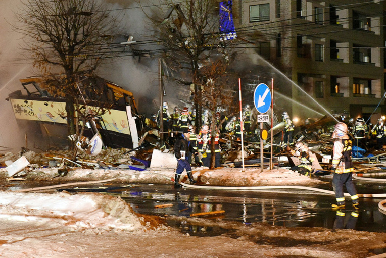 Une explosion dans un restaurant fait 42 blessés dans le nord du Japon