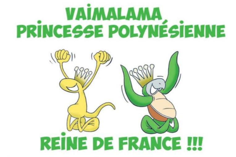 """"""" Vaimalama Miss France 2019 """" par Munoz"""