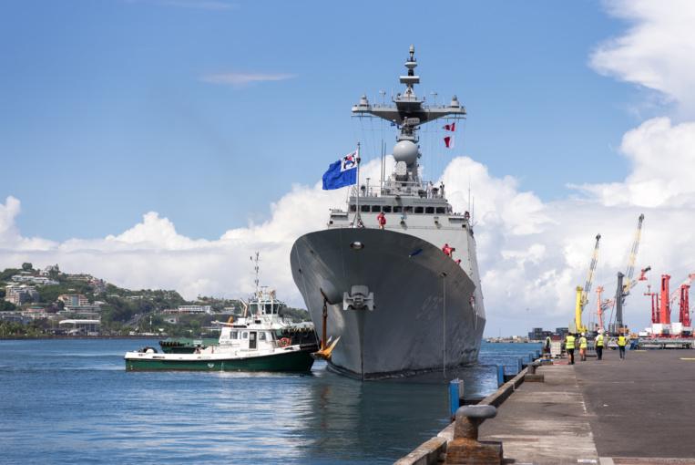 Deux navires coréens en escale à Papeete ouverts au public mercredi de 10h à 16h