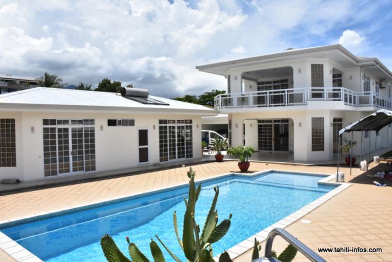 La demeure dans laquelle prévoit d'être relocaliser le consulat de RPC, rue Wallis à Fariipiti.