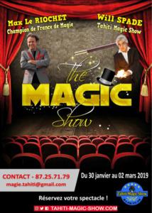 Abracadabra, le champion de France de magie débarque à Tahiti !