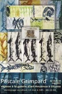 Exposition de gravures de Pascale GRIMPARD