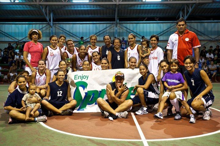 Aorai et excelsior ( équipes féminines)   (les photos Teava MAGYARY)