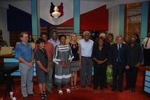 Les élus du congès de Nouvelle-Calédonie