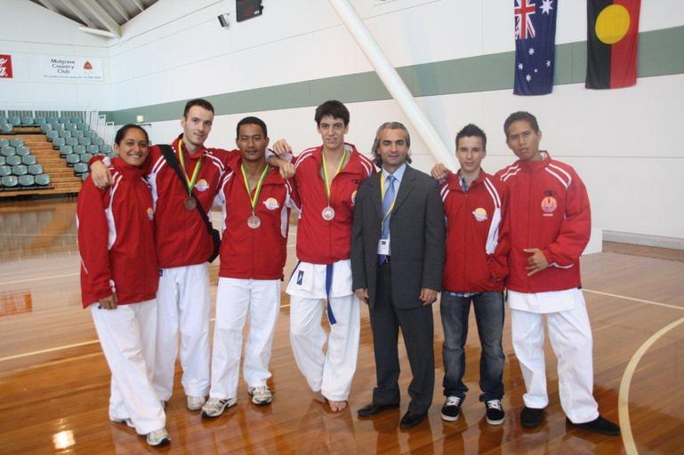 Karaté. Trois podiums à l'open d'Australie