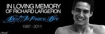 Sincères condoléances à la famille et aux amis de Richard, 24 ans disparu tragiquement